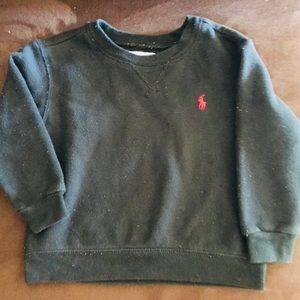 Old School Polo Sweatshirt Sz24months